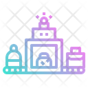 Luggage scanner Icon