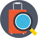 Luggage Scanning Magnifier Icon