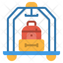 Luggage Service Bag Icon