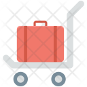 Luggage Trolley Hotel Icon