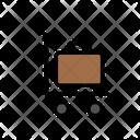 Trolley Briefcase Bag Icon