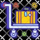 Luggage Trolley Hand Trolley Hand Cart Icon