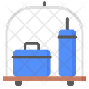 Luggage Trolley Suitcase Icon