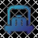 Bellhop Luggage Cart Luggage Trolley Icon