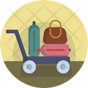Airport Luggage Bag Icon