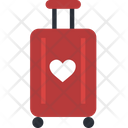Luggage Trolley Honeymoon Bag Hand Trolley Icon