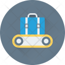Luggage Weight Scale Icon