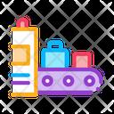 Luggage X Ray Machine Icon