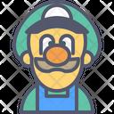 Luigi Mario Arcade Icon