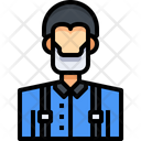 Lumberjack Forester Person Icon