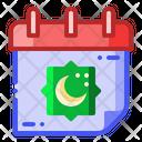 Lunar Calendar Hijri Icon