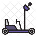 Lunar Roving Vehicle Astronomy Space Icon