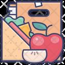 Apple Food School Icon