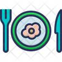 Lunch Dish Fork Icon