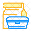 Lunch Box Canteen Icon