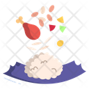 Lunch Meal Dish Icon