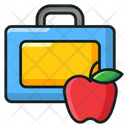 Meal Box Lunch Box School Lunch Icon