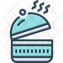 Luncheon Box Open Icon