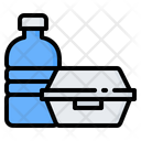 Lunch Box Delivery Food Icon