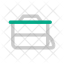 Lunch Box Food Hiking Icon