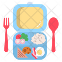 Lunch Box Meal Tiffin Icon