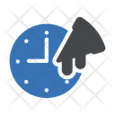 Pizza Time Lunch Icon