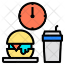 Fast Food Lunch Office Element Icon