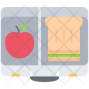 Food Launch Box Icon