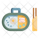 Box Bento Food Delivery Icon