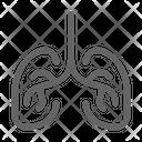 Lung Organ Respiratory Icon