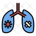 Lung Disease Virus Icon