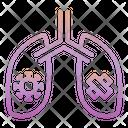 Outline Gradient Covid Icon