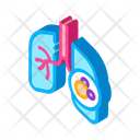 Pumping Air Cancer Icon