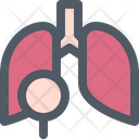 Lung Checkup Health Icon