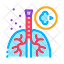 Asthma Attack Color Icon