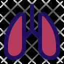 Lungs Breath Health Icon