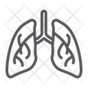 Lungs Biology Body Icon