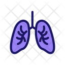Lungs Healthy Unhealthy Icon