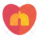 Lungs Medicine Medical Icon