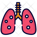 Lungs Organ Pulmonology Icon