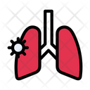 Lungs Breath Disease Icon