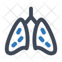 Lungs Organ Breath Icon