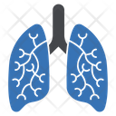 Lungs Breathing Corona Icon