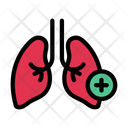 Lungs Breath Medical Icon