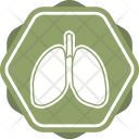 Lungs Breath Anatomy Icon