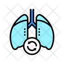 Lungs Transplant Color Icon