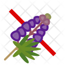 Lupine Plant Allergy Icon