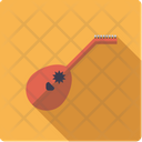 Lute String Instrument Icon