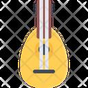 Lute Mandolin Ukulele Icon