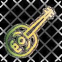 Lute Mandolin Music Icon